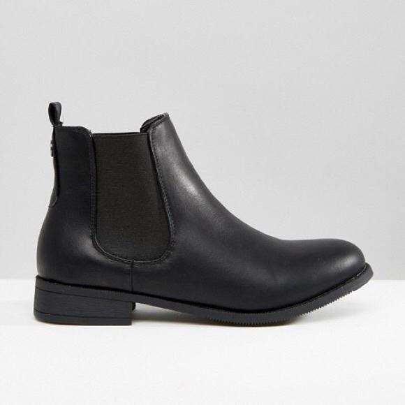 44746ef68ab NWOB ASOS Park Lane Flat Chelsea Boots NWT